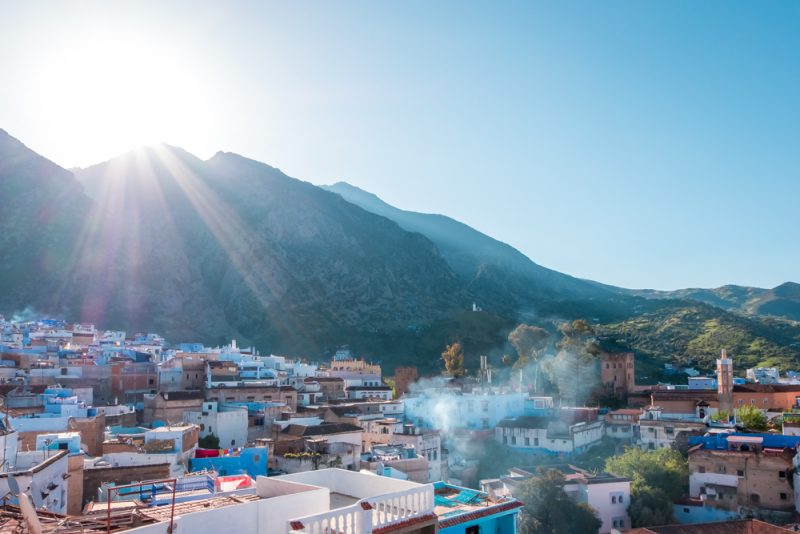 Morocco itinerary - What to do in Chefchaouen sunrise