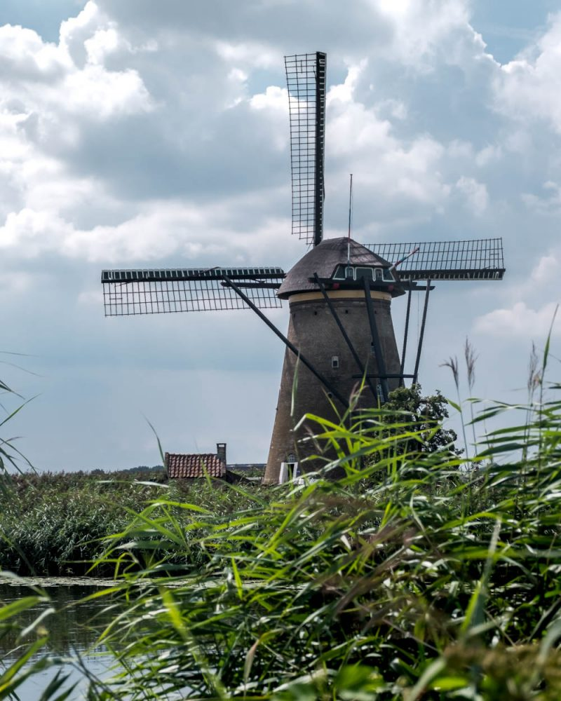 Netherlands Kinderdijk windmills