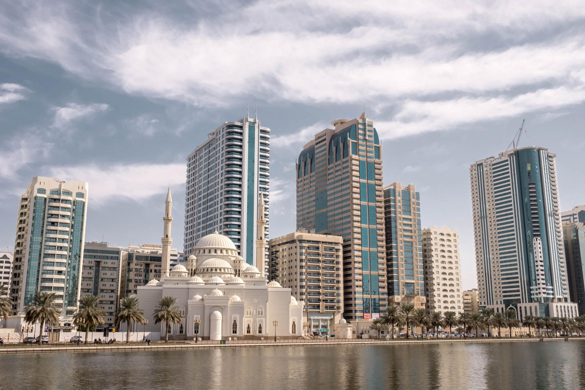Places to visit in Sharjah City Center Al Noor Mosque