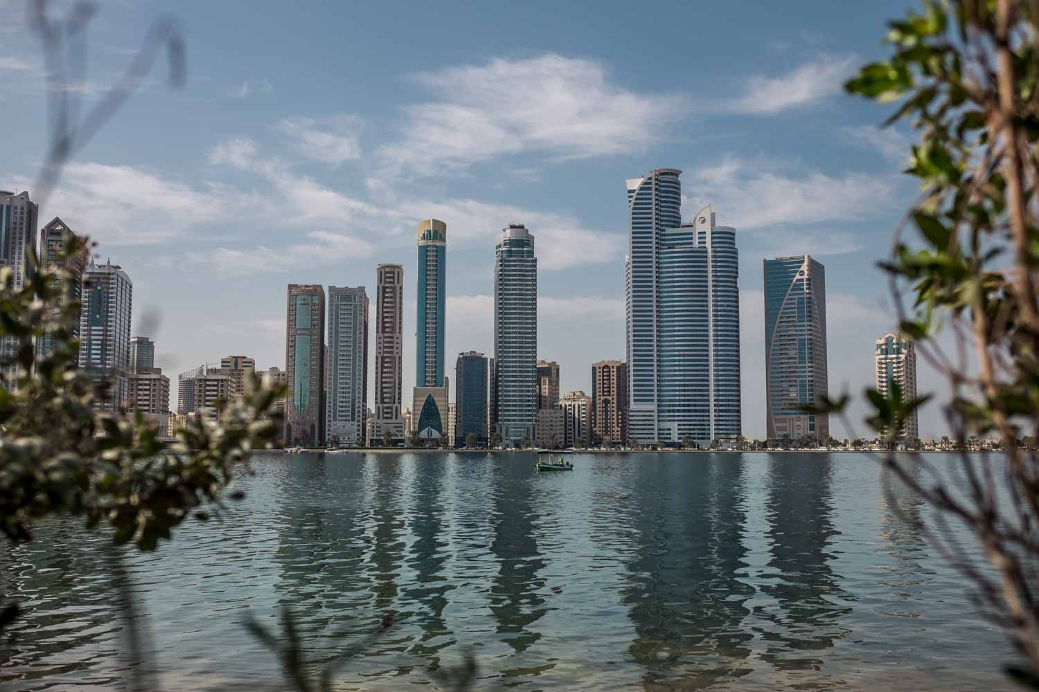 Best places to visit in Sharjah - City view from Al Noor island