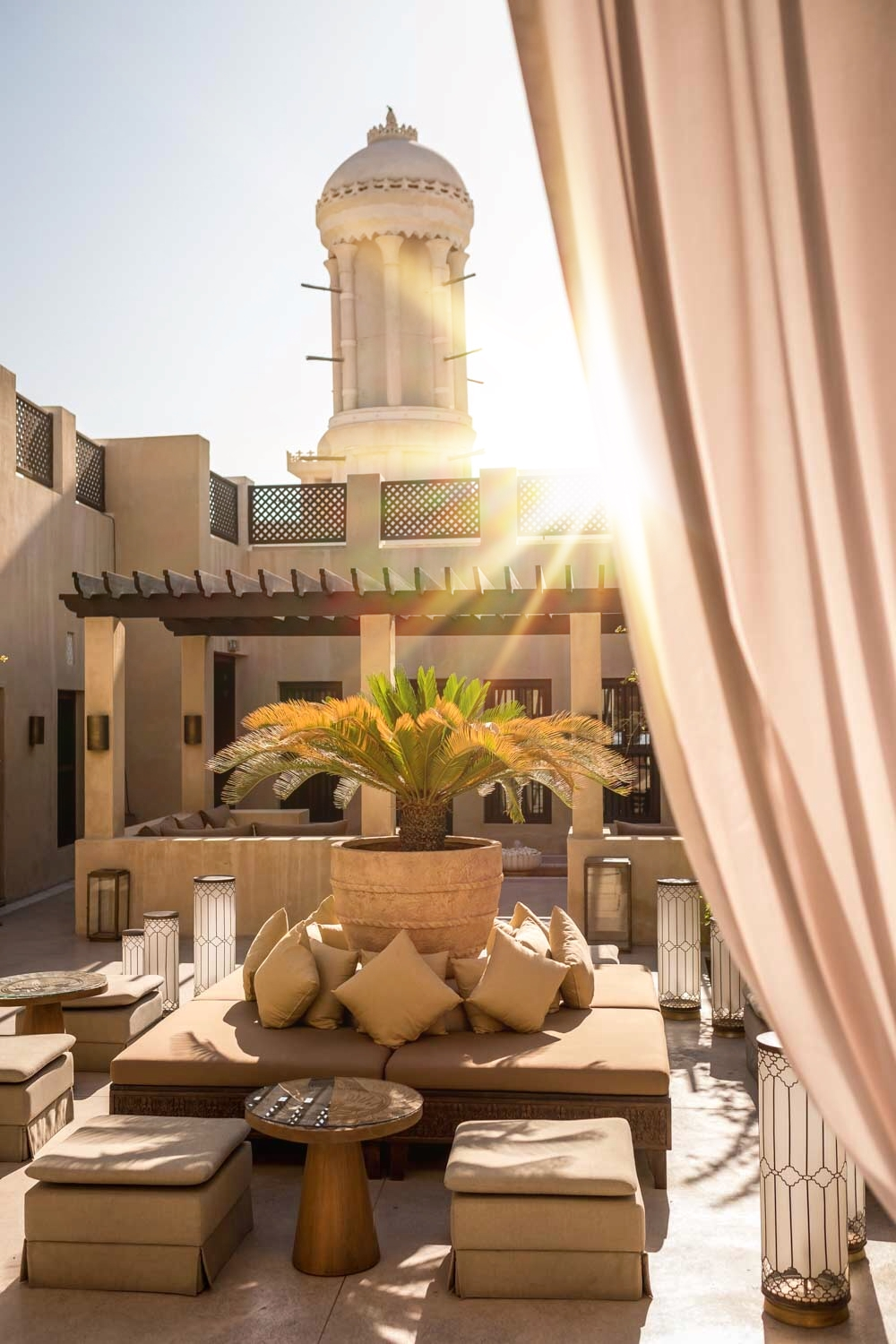 Best places to visit in Heart of Sharjah. The Chedi Al Bait hotel