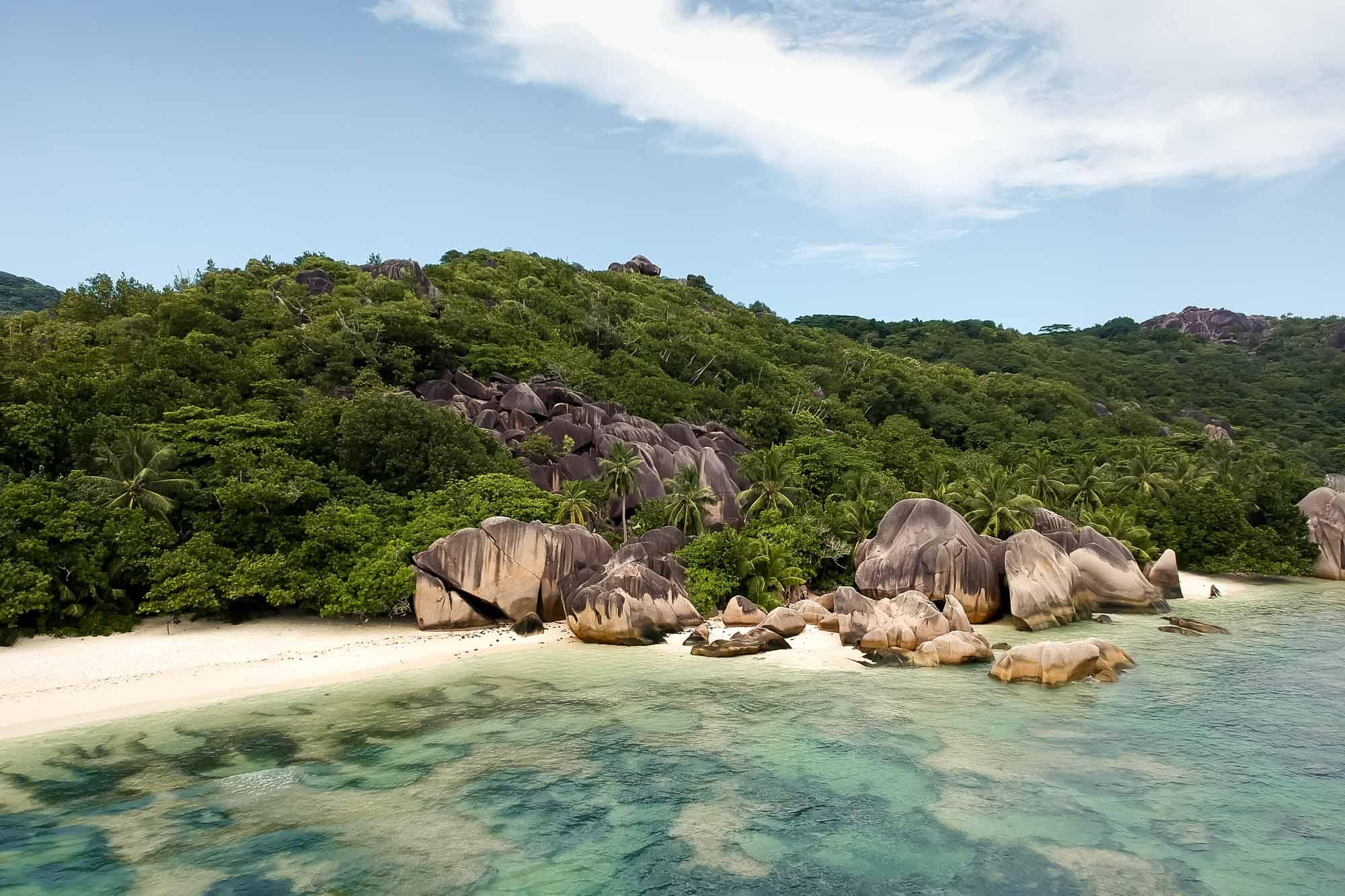 La Digue travel guide Seychelles Anse Source D'Argent