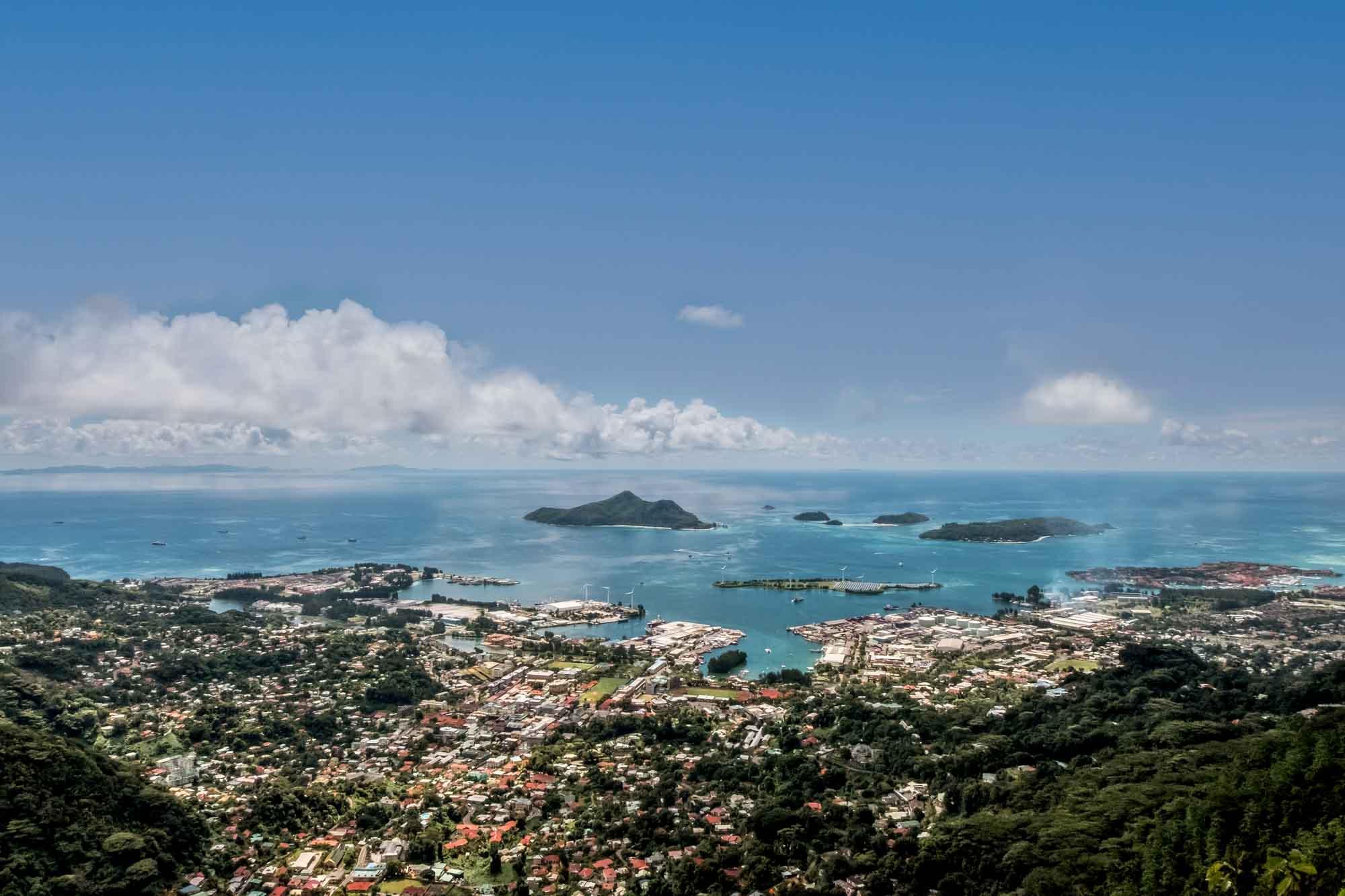 Seychelles Mahe Travel Guide Dans Gallas trail hike view point